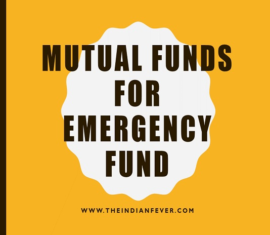 mutual funds for emergency funds in hindi